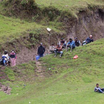 """""""Paso de migrantes desde Colombia hacia Ecuador se ha reducido"""""""