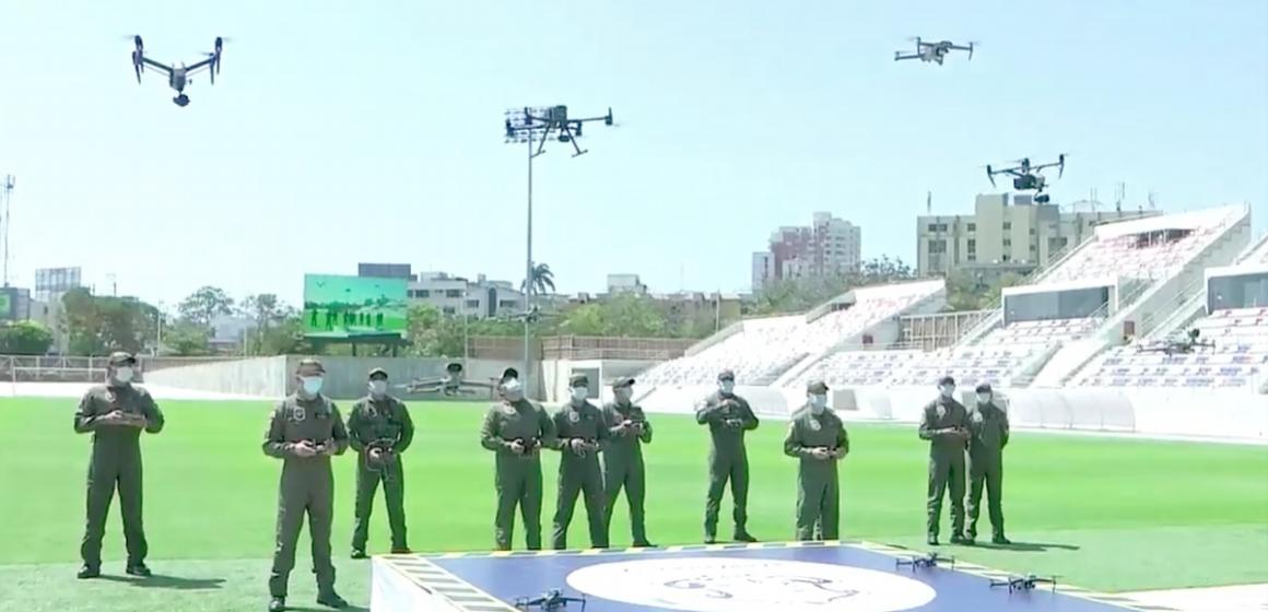 Barranquilla estará vigilada por drones de alta tecnología