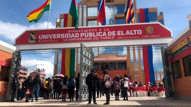 SIETE LOS  UNIVERSITARIOS  MUERTOS EN BOLIVIA AL CAER DESDE UN QUINTO PISO