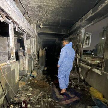 VAN  82 MUERTOS POR INCENDIO EN HOSPITAL IRANI QUE ATENDIA PACIENTES CON COVID-19