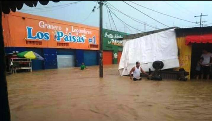 CONTINUA EMERGENCIA EN EL CARMEN DE BOLIVAR POR INICIO DE OLA INVERNAL.