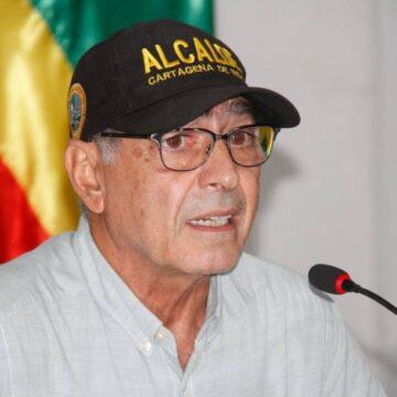 """""""NO IBA A PERMITIR QUE TUMBARAN LA ESTATUA DE PEDRO DE HEREDIA"""":  ALCALDE DE CARTAGENA"""