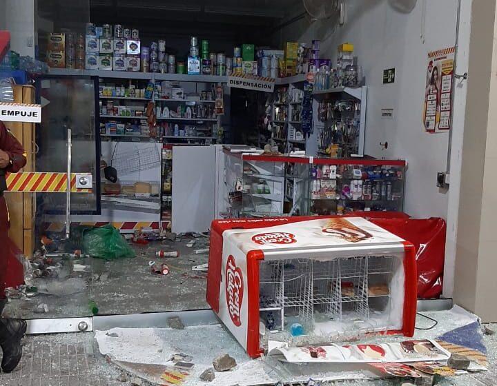EN SAQUEOS, DISTURBIOS  Y VANDALISMOS TERMINARON LAS PROTESTAS ALREDEDOR DE LA PLAZA DE LA PAZ EN BARRANQUILLA.