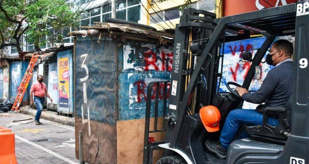 COMENZO REUBICACION DE VENDEDERES ESTACIONARIOS DEL CENTRO DE BARRANQUILLA