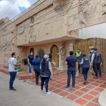 POR INCUMPLIMIENTO DE ALGUNAS  MEDIDAS DE HIGIENE Y SEGURIDAD CIERRAN MOTEL EN EL CENTRO DE BARRANQUILLA.