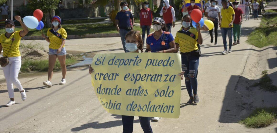 MARCHAS POR EL NO AL PEAJE Y POR LA FALTA DE APOYO AL DEPORTE SE LLEVARON A CABO EN LA CORDIALIDAD.